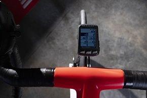 Fahrtdaten sammeln Wahoo Elemnt Roam GPS-Radcomputer