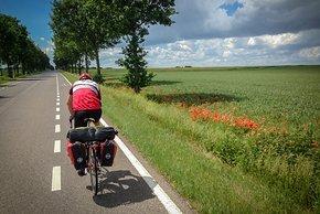 Rennradtour im Randonneur Modus