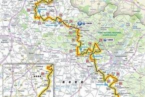 Die Strecke von Paris-Roubaix 2019