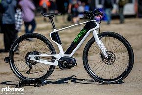 Dieses Bike sieht nicht nur speziell aus, auch die Machart ist bislang äußerst selten