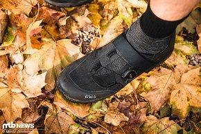 Anders als viele wasserdichte Schuhe kommen die fi'zi:k-Schuhe relativ schlank daher