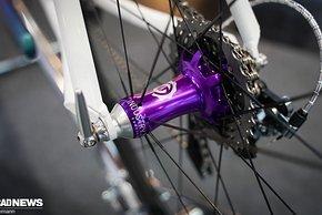Laufräder steuert Industry Nine bei