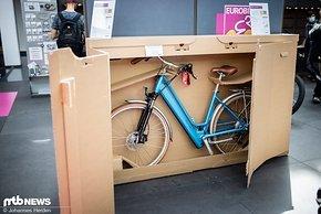 Für die umweltfreundliche Fahrrad-Transportbox von Thimm gab es den Green Award