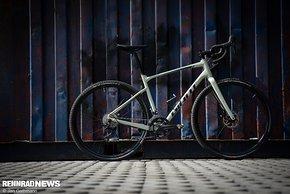 Gelungenes Genuss Gravel Bike