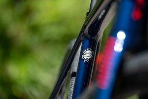 Der Rahmen ist UCI konform