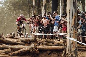 Die technisch anspruchsvolle Strecke in Südafrika forderte von den Fahrerinnen alle ihrer Fertigkeiten ab