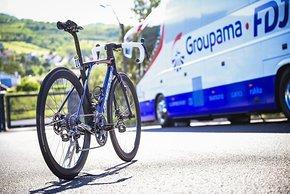 Das neue Xelius SL3 feiert Premiere in den Händen von David Gaudu bei der Tour de France 2021.
