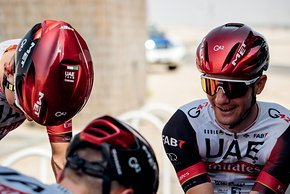 Bei der UAE Tour wurde der neue Manta bereits von den Profis getestet...