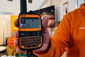SpotX zeigt diesen 2-Wege Satelliten-Messenger