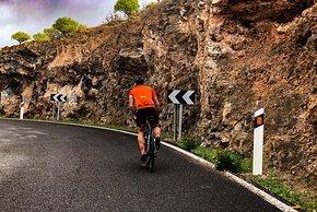 Steigungen gibt es in Gran Canaria mehr als genug