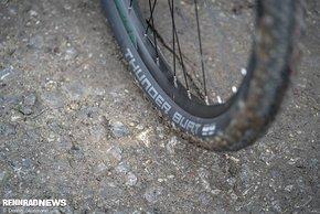 Mit den Schwalbe Thunder Burt-Reifen in 57 mm Breite beweist Decathlon ein gutes Händchen