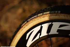 Das Profil der Vittoria Terreno Mix-Reifen...