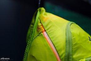 Lichtleiter im Rucksack