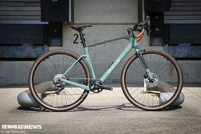 Das Bulls Machete ist ein neues Adventure Gravel Bike mit viel Reifenfreiheit