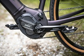 Der Motor: SyncDrive Pro, Powered by Shimano EP8