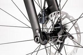 Der Radsensor ist an allen Modellen serienmäßig