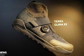 Die fi'zi:k Terra Clima X2-Schuhe sollen aufgrund eines atmungsaktiven wasserdichten Aufbaus perfekt für den Herbst geeignet sein.