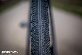 Die WTB Exposure Reifen sind auf der Straße eine gute Wahl