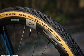 An den Schwalbe G-One Allround-Reifen gefiel vor allem die Fahrdynamik ...