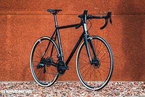 Das Triebwerk war das erste Rennrad von Standert – das Triebwerk Disc ist das jüngste Modell der Serie
