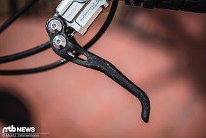 Der Carbonhebel der Piccola wurde erstmals auf der Eurobike präsentiert