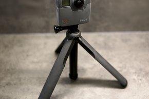 GoPro Fusion auf Stativ