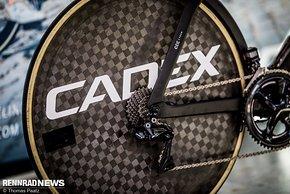 Cadex is back – zunächst durchliefen die Komponenten eine Testphase an Pro-Bikes unter dem Label #overachieve