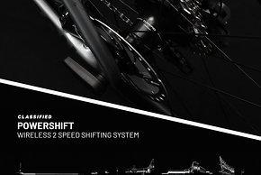 Die komplette Getriebeinheit sitzt im Inneren der Powershift-Nabe
