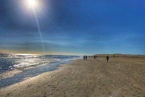 Natürlich darf auch ein Spaziergang am Strand nicht fehlen