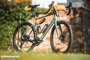 Das komplette Evoc Bikepacking-Programm wartet mit einigen besonders durchdachten Details auf