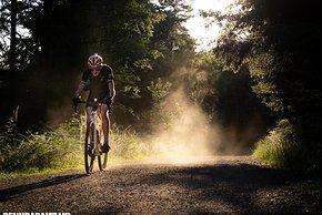 Der Aerycs GCX Gravel-Laufradsatz macht im Kopf schnell