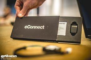 Im eConnect-Nachrüstkit ist der Bluetooth-Key und ...