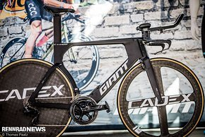 Cadex Komponenten am Team TT-Bike von Alessandro de Marchi