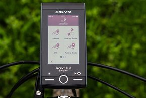 Der ROX.12 SPORT bietet viele Möglichkeiten der Navigation
