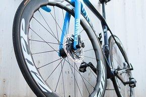 Zipp-Laufräder werden auch mit Tubeless-Reifen gefahren werden
