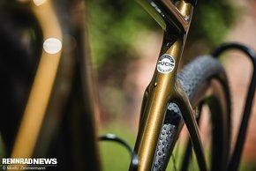 Der Rahmen ist UCI konform – sonst wäre er auch im CX Renneinsatz nicht erlaubt
