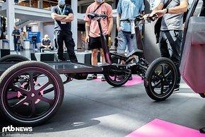 Das SUM-X Lastenrad ist für die Logistik-Zustellung in der Stadt entwickelt
