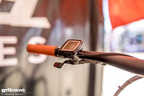 Das smarte Bosch CX Purion Display ist kompakt und übersichtlich