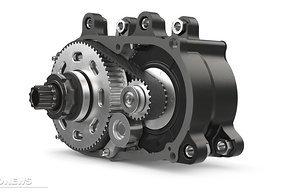 Die Konstruktion des Getriebes wurde nicht verändert