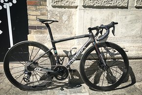 Wie Profi-Material: Specialized S-Works Tarmac SL6 Sagan mit Shimano Dura Ace Di2, Lightweight-Laufrädern