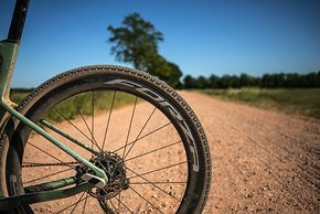 Ridley bietet das Kanzo Fast mit eigenen Laufrädern der Marke Forza an...