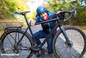 Gute Fahrt zur Arbeit mit dem Commuter-Rennrad!