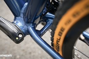 Platz für Schutzbleche oder breitere Reifen