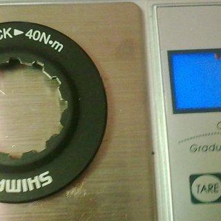Gewicht Shimano Weiteres/Unsortiertes Centerlock Ring M AL