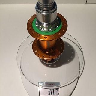 Gewicht Hope Nabe Pro 4 12x148 Boost, XD, 32 L.