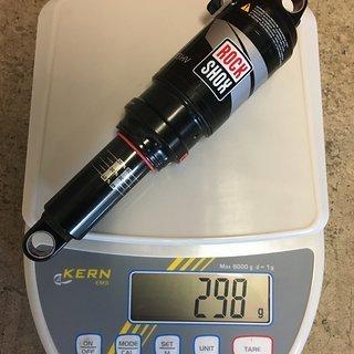 Gewicht Rock Shox Dämpfer Monarch RT3 HV 200x57mm