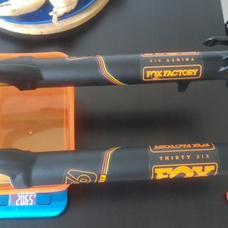 "Gewicht Fox Racing Shox Federgabel 36 Float fit4 boost 29"" 29"" 15x110mm 160mm"