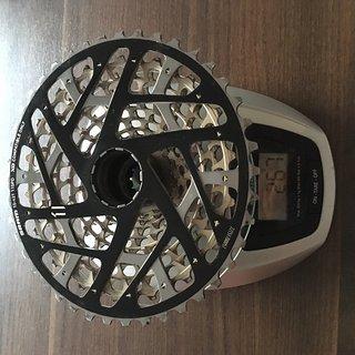 Gewicht SRAM Kassette XX1 11-fach, 10-42Z