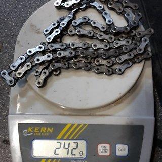 Gewicht SRAM Kette X01 Eagle 12-fach 114 Glieder