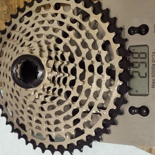 Gewicht Garbaruk Kassette 11-speed Cassette 11-46 11-fach, 11-46